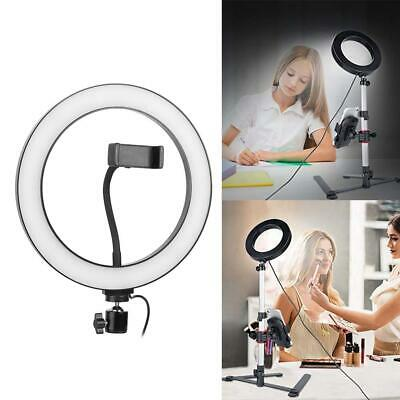 "26cm Dimmable 10"" LED 3500-6000K Ring Light Studio Photo Video Light Fill Lamp"