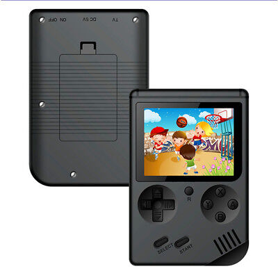 Hot Mini Pocket Handheld Game Player w/ Built-in 168 Classic Games Kids Play