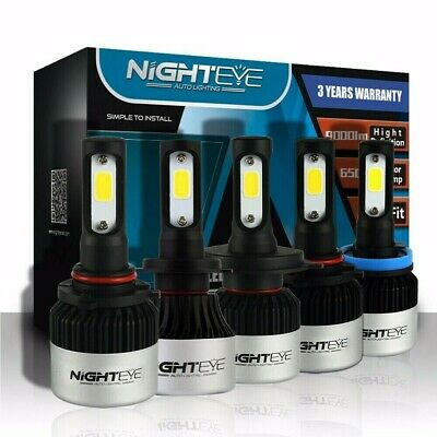 Nighteye H1 H4 H7 H11 9005 9006 LED Autoscheinwerfer Birnen Kit Lampen Licht 72W