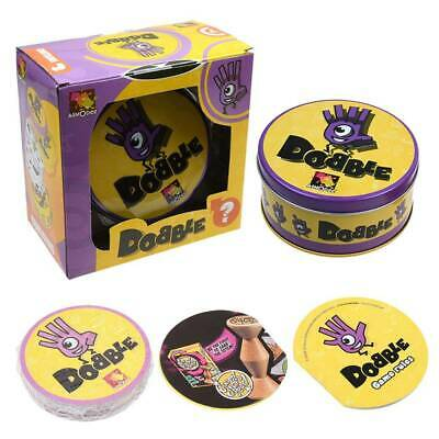 Dobble Spot It Visual Perception Card Game Party Family Board Games