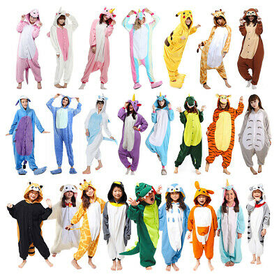 Pikachu Stich Unicorn Kangaroo Ones18 Adult Kigurumi Cosplay Costume Pajamas