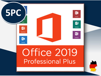 Office Professional Plus 2010/2013/2016/2019 1/5PC - Pro Plus - per E-Mail
