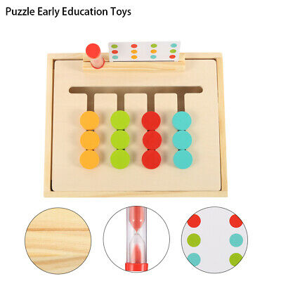 Four Color Game Montessori Enlightenment Teaching Child Early Education aids Toy