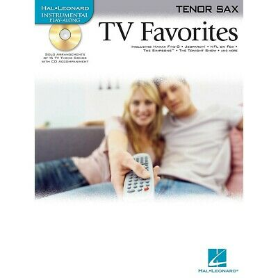 TV FAVORITES FOR Tenor Sax Solo Sheet Music 15 Songs Play