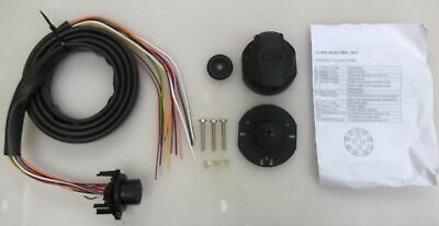 13 Pin Euro Socket Pre Wired 2 Metres Soft Sheath Cable Towing Towbar Electrics