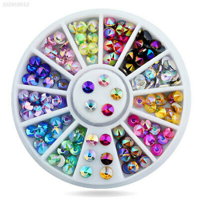 1758 DEE5 Fashion Colorful Nail Art Rhinestones Decoration Makeup For Female DIY