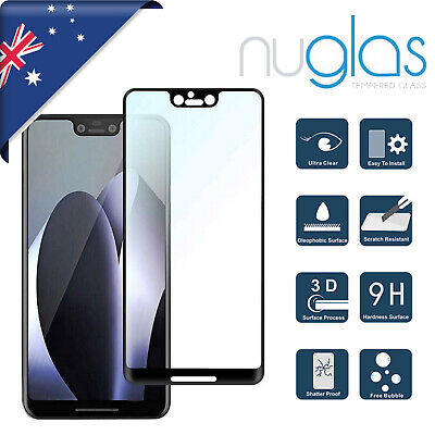 For Google Pixel 2 3 3a 4 XL NUGLAS 3D Full Tempered Glass  Screen Protector