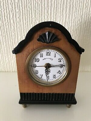 Stunning Extremely Rare Lenzkirch Miniature Alarm Clock