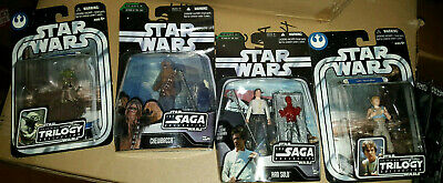 Star Wars Action Figure Lot - ROTJ - Luke Skywalker - Han Solo - Kenner