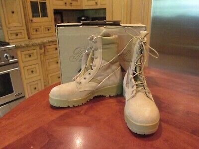 0c16a9dc3da THOROGOOD HOT WEATHER Steel Toe Boots, Desert Tan Color, Size 8 1/2 W, NWT