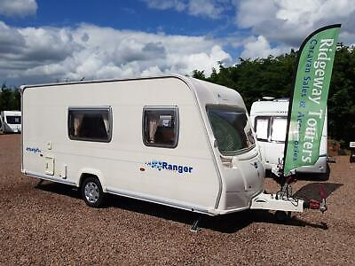 * SOLD STC * Bailey Ranger Series 5 470/4 2006 Lightweight Single Axle 4 Berth