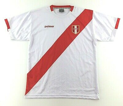 2eafd55cd59 Peru World Cup 2018 Polmer Jersey Peruvian Football Federation Mens Large