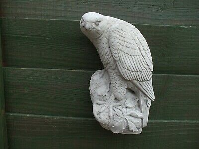 Stone Wall Hanging Sculpture Of A Peregrine Falcon