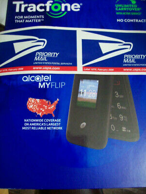 TRACFONE ALCATEL MYFLIP A405DL Cell Phone Brand New Factory Locked