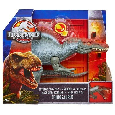 Jurassic Park III Legacy Collection Spinosaurus Extreme Chompin Spino NEW!
