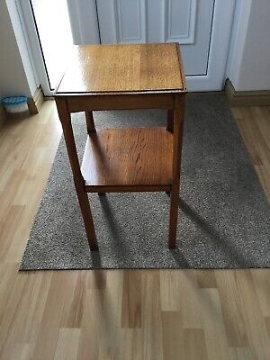 Retro Vintage Two-Tier Occasional Side Table