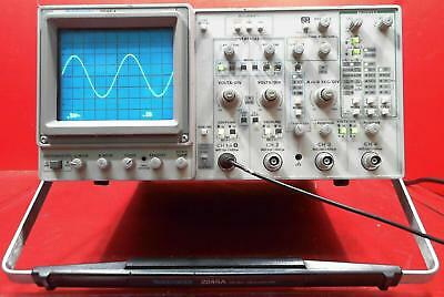 Tektronix 2245a 100 Mhz Dual Time Base Oscilloscope 4 Channel