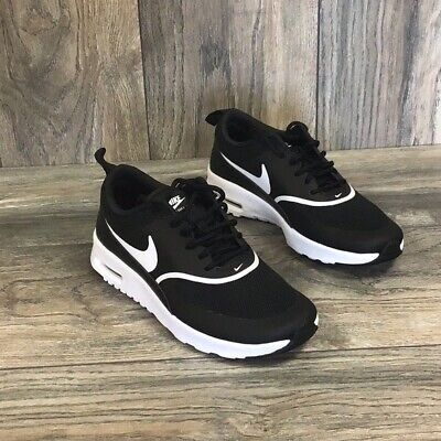 Nike Air Max Thea Womens 599409 028 Black White Running Training Shoes Size 12