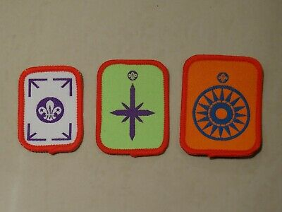 FULL SET OF 1999 Outdoor Awards Scout Badges - £5 56