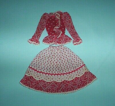 Barbie VINTAGE 1971 Fashion 'n Sounds #1055 MOD Country Music BLOUSE & SKIRT