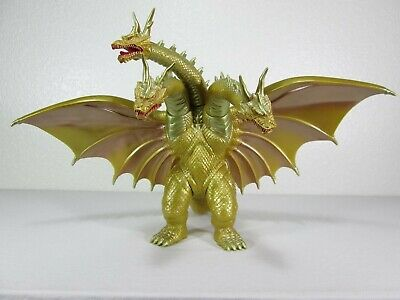Bandai 1998 Grand King Ghidorah Rebirth Of Mothra 3 Soft Vinyl Figure
