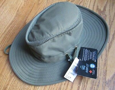 4dd928a5 TILLEY T5MO ORGANIC Cotton Airflo Hat Size 7 3/4 NEW RETAIL: $95 ...