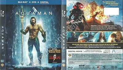 Aquaman (SLIPCOVER ONLY for Blu-ray)