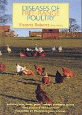 Diseases of Free-range Poultry by Roberts, Victoria Hardback Book The Cheap Fast