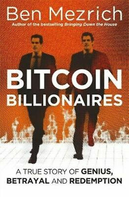 NEW Bitcoin Billionaires By Ben Mezrich Paperback Free Shipping