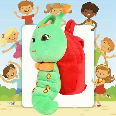 Kids Backpack Cartoon Boys Girl Animal Caterpillar for Children Cute Schoolbag