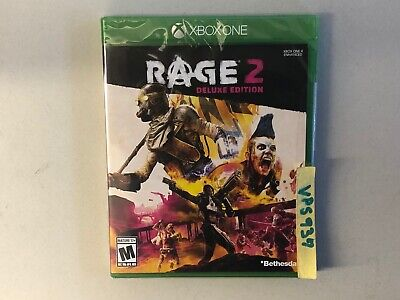 Rage 2 Deluxe Edition (Microsoft Xbox One Xbox 1, 2019) BRAND NEW FACTORY SEALED