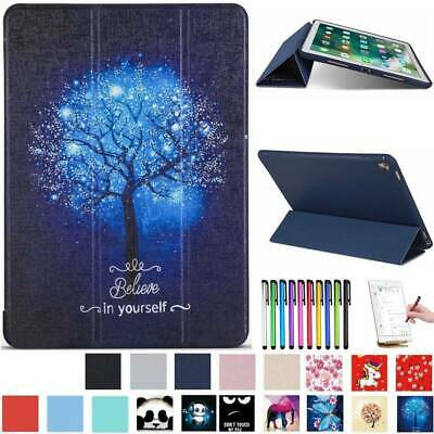 """Smart Leather Magnetic Case Cover For iPad 9.7 2018 Pro 11"""" Air 3 Mini 5th 2019"""