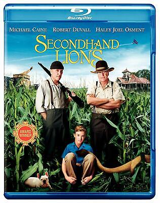Secondhand Lions  BLU-RAY/WS (Blu-ray Used Very Good) BLU-RAY/WS FREE SHIPPING!