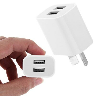 USB Wall Charger Power Adapter+ Cable for iphone 6 Plus/7/ipad/Samsung AU PlugE