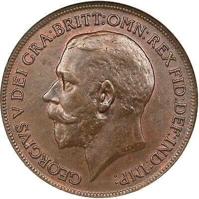 One Penny Large 1911-1936  George V CHOOSE THE DATE ONE COIN BUY