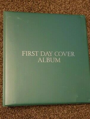 Wh Smith First Day Cover Album With 18 Inserts Holds 76 Fdc's