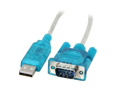 StarTech.com ICUSB232SM3 USB to Serial Adapter - Prolific PL-2303 - 3 ft / 1m -