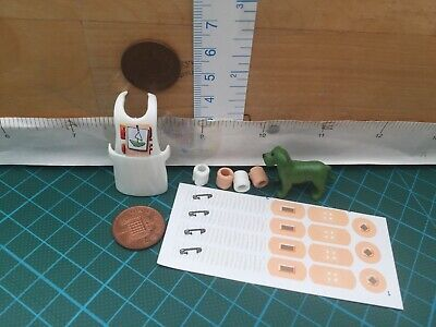 Playmobil Vet Spares 3483 Puppy Bandsages /& Stickers for Sick Pets