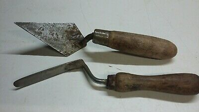 Retired brickies pointing & finger trowels