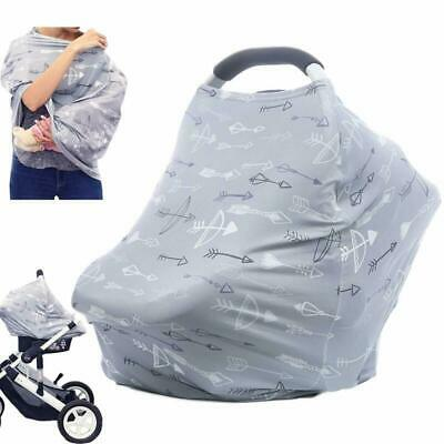 Baby Car Seat Covers Multifunctional Infant Carseat Canopy for Boys and Girls