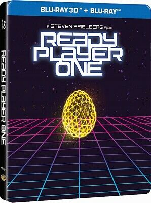 Player One 3D (Ready Player One 3D) Steelbook - 2 Blu-Ray 3D/2D