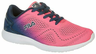 c3b15c46bb8 NIB FILA WOMENS Memory Kameo 3 Running Shoes Size 9 Hot Pink/Navy ...