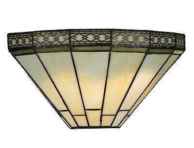 Tiffany Style Handcrafted Glass Wall Light - Tiffany Wall Lights for sale