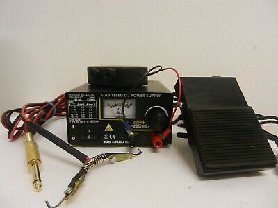 old italian tattoo DC power supply - variable voltage bench top power machine