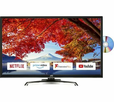 "JVC LT-32C795 32"" Smart LED TV with Built-in DVD Player (Full HD 1080p)"