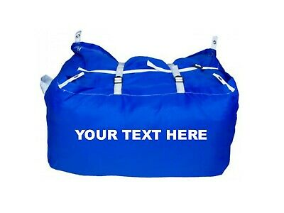 10 x PRINTED BLUE ULTRA STRONG LAUNDRY HAMPERS COMMERCIAL GRADE - SPECIAL OFFER