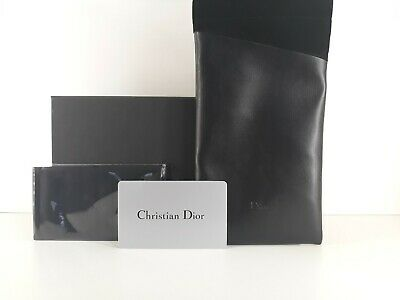 Christian Dior sunglasses slip in case comes with cleaning cloth and dior box