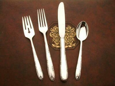 Madeira by Towle Sterling Silver 4 Piece Place Size Setting, Estate
