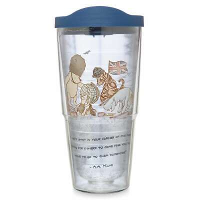 Disney Parks Epcot Winnie the Pooh and Friends Travel Tumbler by Tervis New