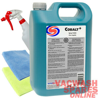 Autosmart Cobalt+ Spray Polish 5 Litre - Use Wet Or Dry - Dust Free - Trade